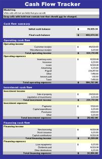 Cash-Flow-Log