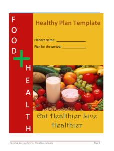 health-plan-template