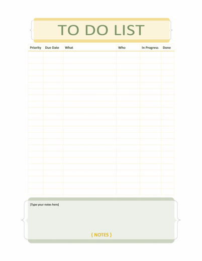 Household-Chore-List-Template