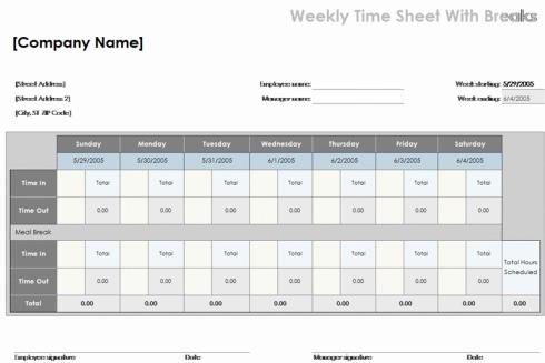 Time-Log-Sheet