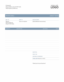 Cleaning-Invoice-Template