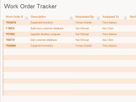 work order log a blog for office guys