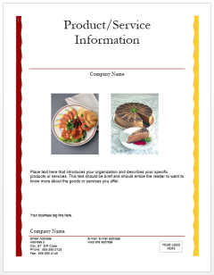 Lunch-Flyer-Template