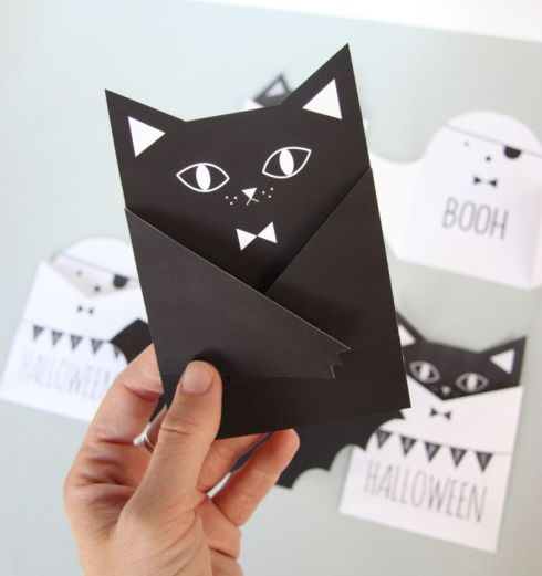 Homemade Halloween Party Invitations – How to Do