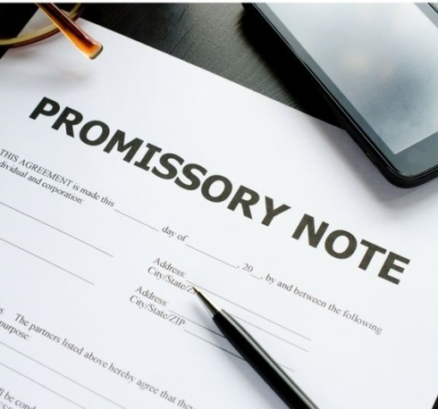 What Details to Be Entered in a Promissory Note Form